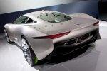 Jaguar C-X75 в «электрическом» стиле